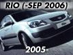 RIO 05: -SEP.2006 (2005-2006)
