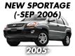 SPORTAGE 04: -SEP.2006 (2005-2007)