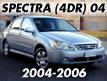 SPECTRA 04 (4DOOR) (2004-)