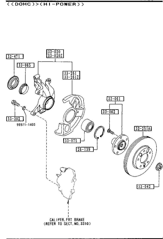 Mazda B603-33-471 ABS Ring