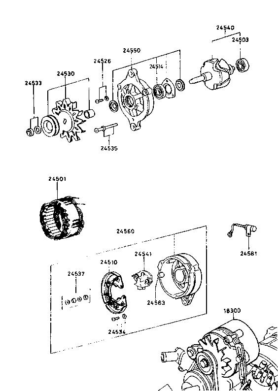 Usa 1980 Rx 7 Rotary Engine 1830a