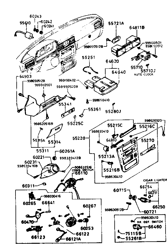 5 Gang Standard Hydraulic Reel Motor Circuit