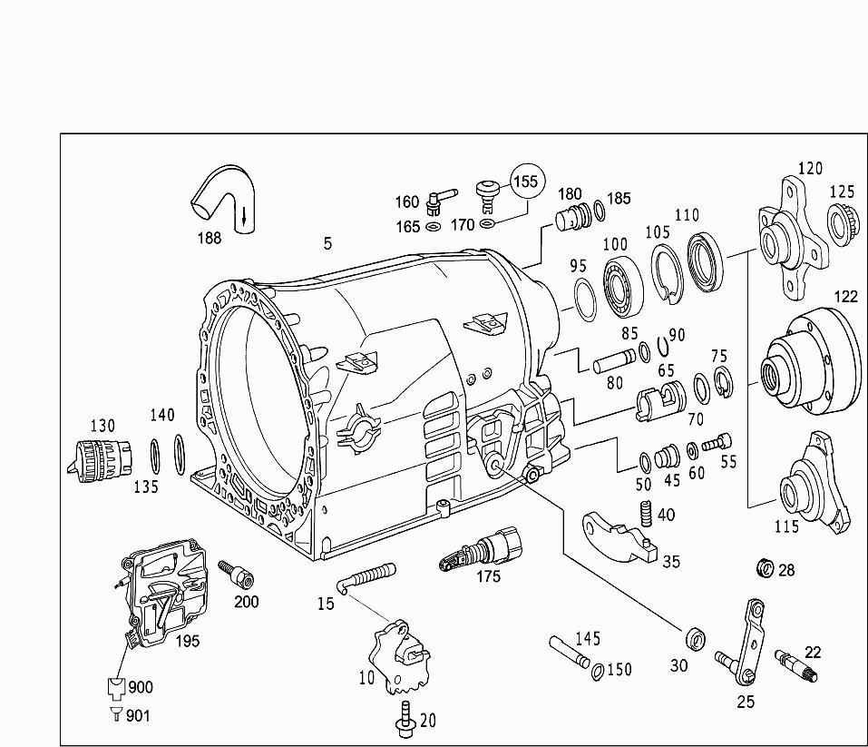 Car-North America, Maj  Assy GA - Automatic transmission