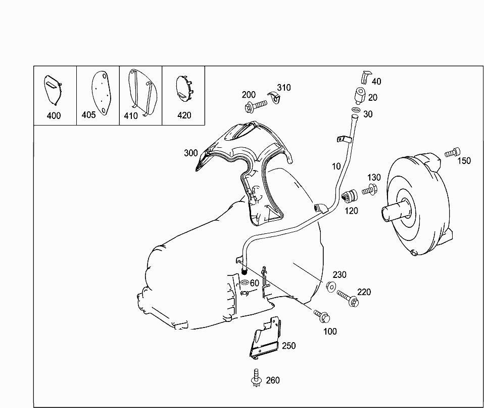 2009 Mercedes Parts Diagrams
