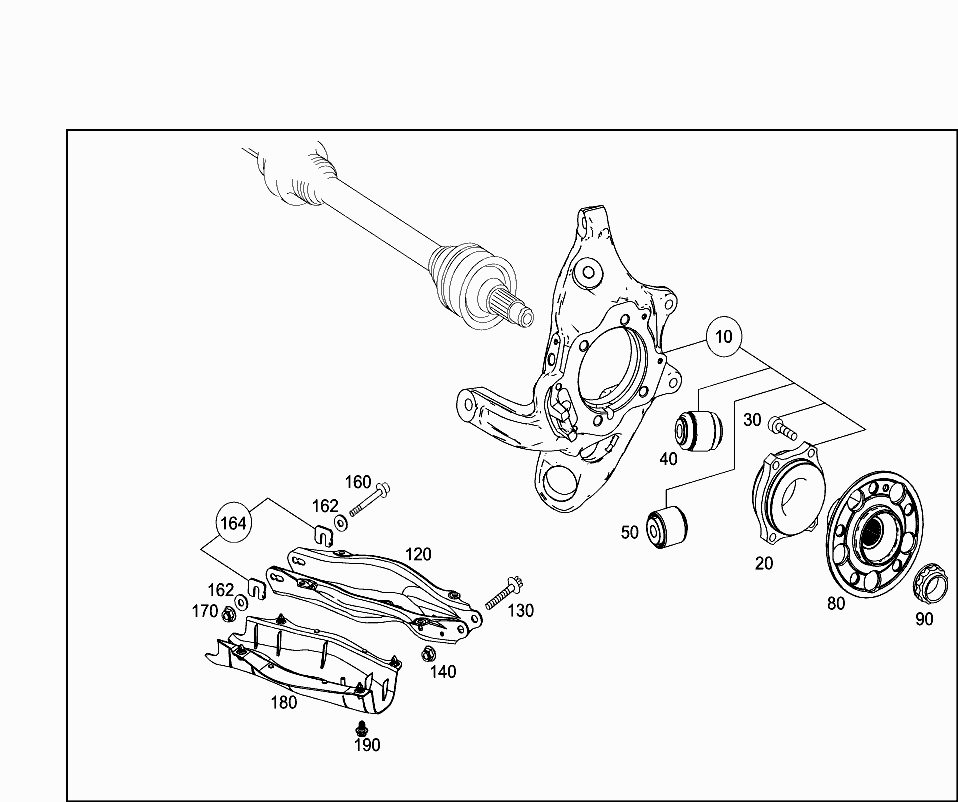 Code Part Number Namement Footnotes Quantity Version: Mercedes 190 Rear Suspension Diagram At Downselot.com