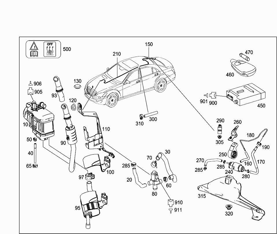 Car Europe 221 074 50 Radiator 330 Independent Heating