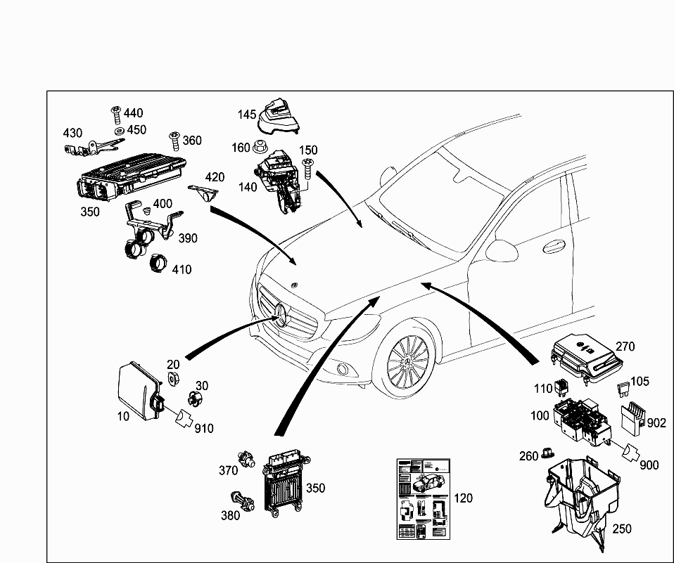 Car-Europe, 205 040 , 54 ELECTRICAL EQUIPMENT AND