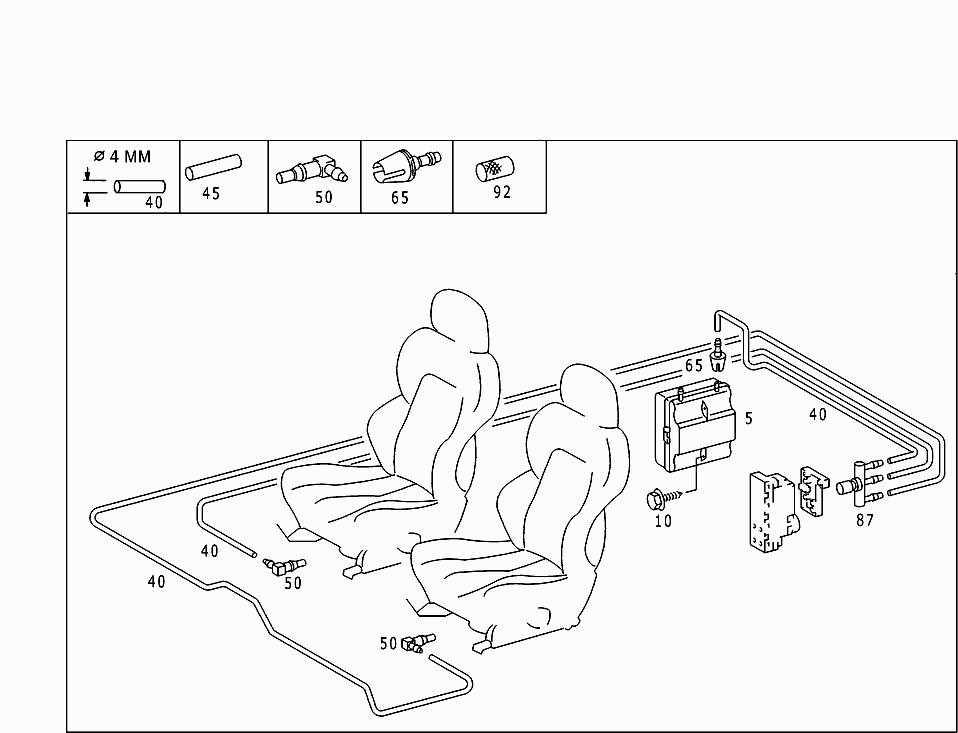 Car Vacuum System Diagram