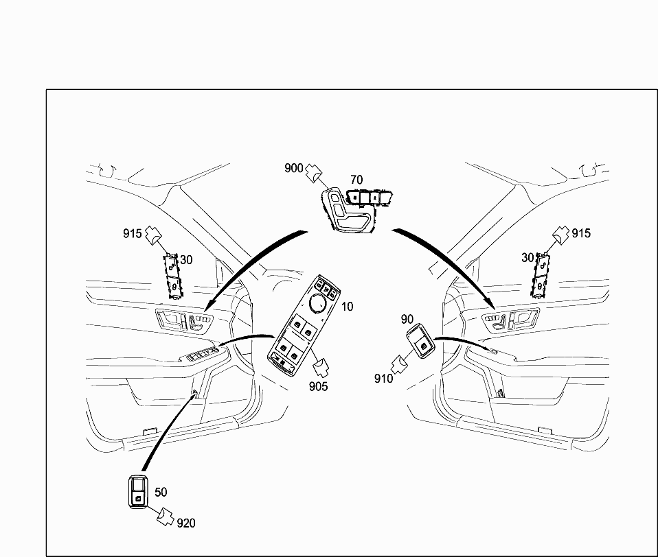 Car North America 212 273 82 Electrical System 464 Seat Wiring