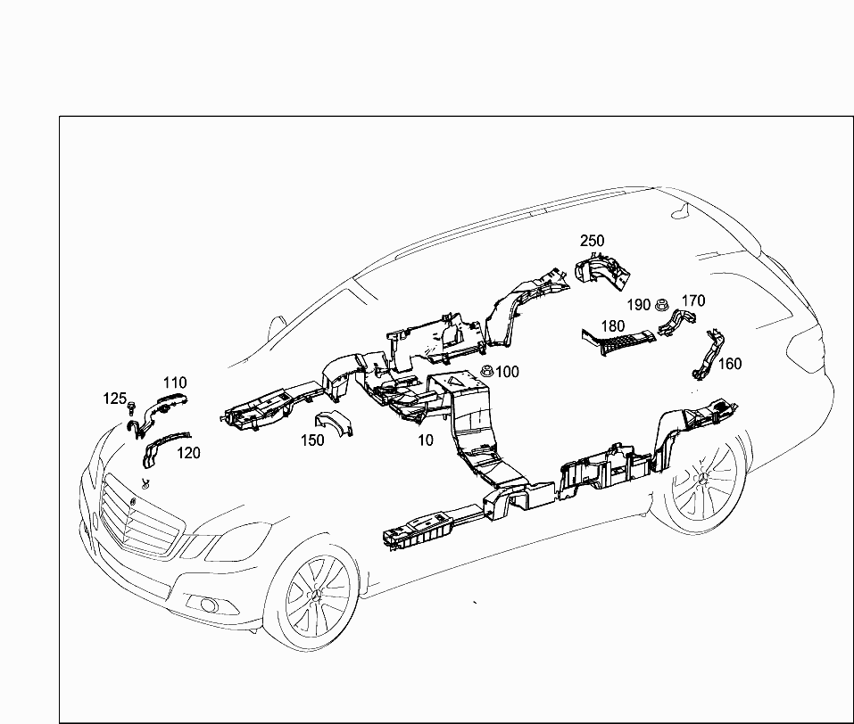Car Europe 212 223 82 Electrical System 625 Additional Parts