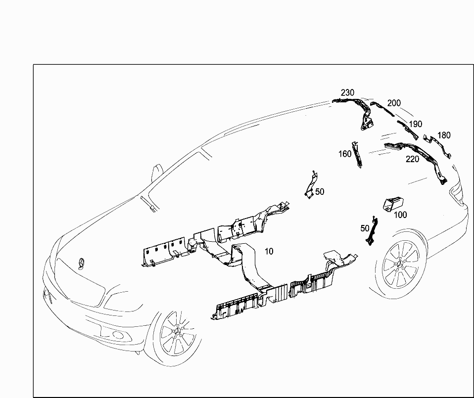 Car North America 204 231 82 Electrical System 464 Seat Wiring