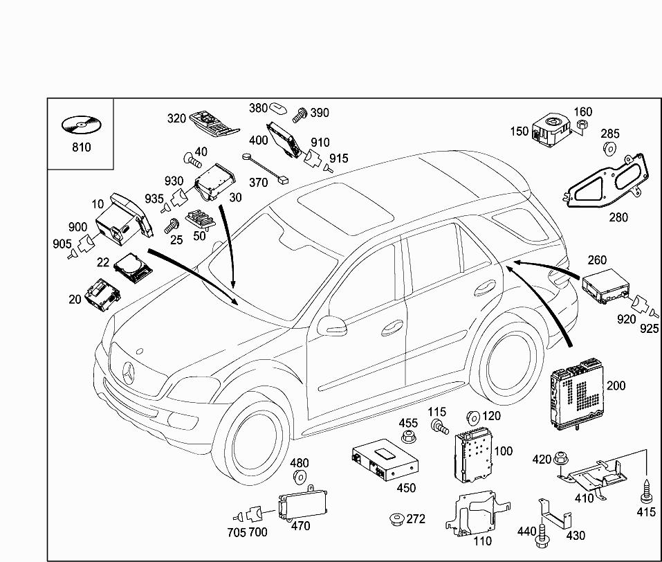 Car North America 164 182 82 Electrical System 306 Radio Remote