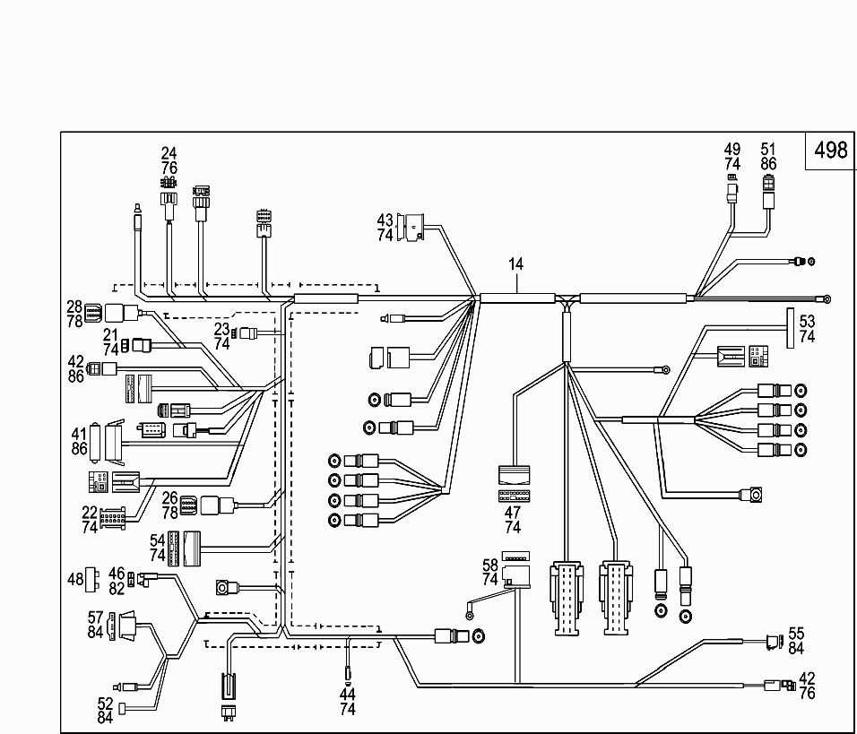 Car-North America, 203 742 , 82 ELECTRICAL SYSTEM, 870