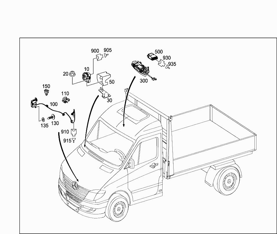 Van-Japan, 906 255 , 82 ELECTRICAL SYSTEM/LIGHTING, 525