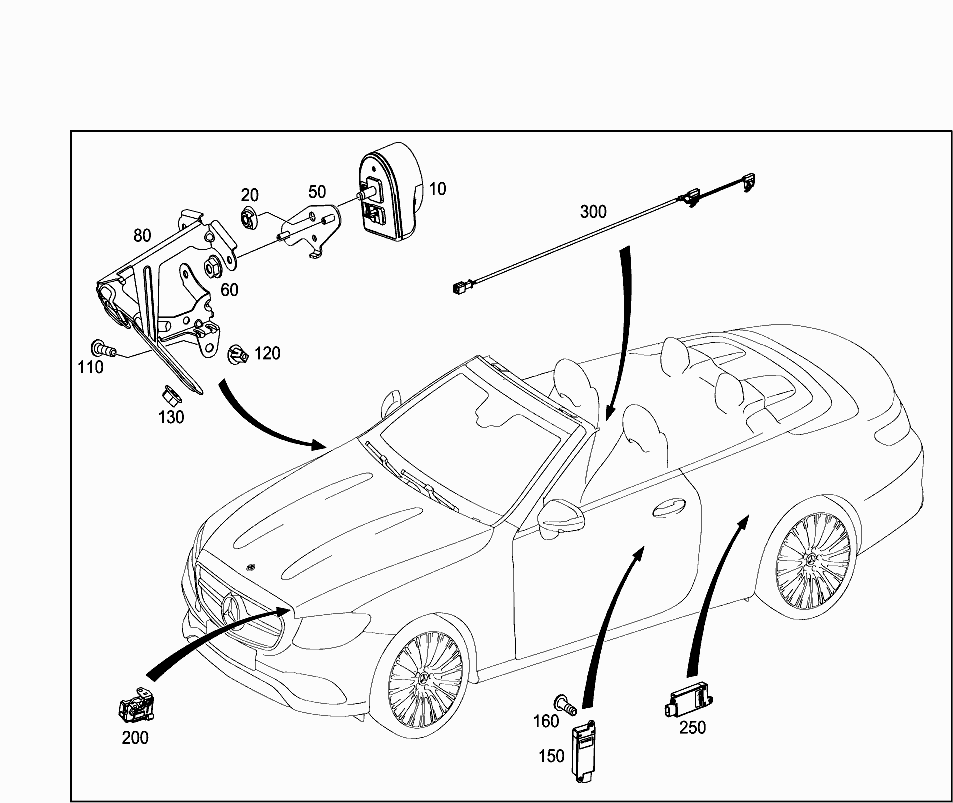 Car Europe 238 414 82 Electrical System 102 Cable Cover And