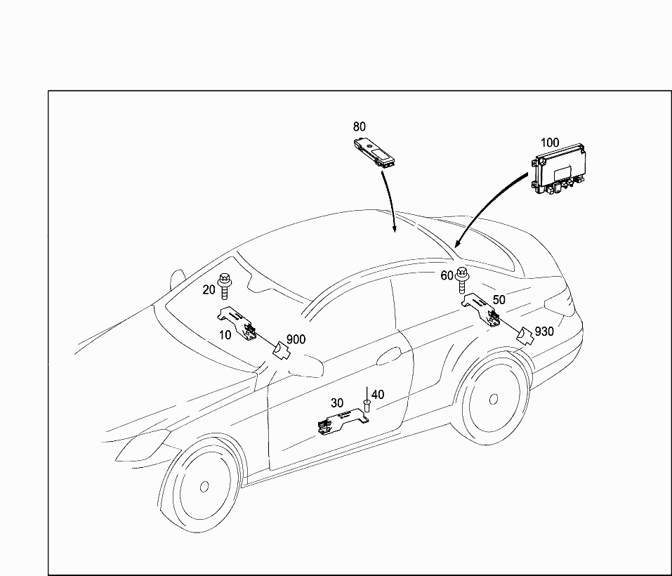 Car North America 207 367 82 Electrical System 607 Door Wiring