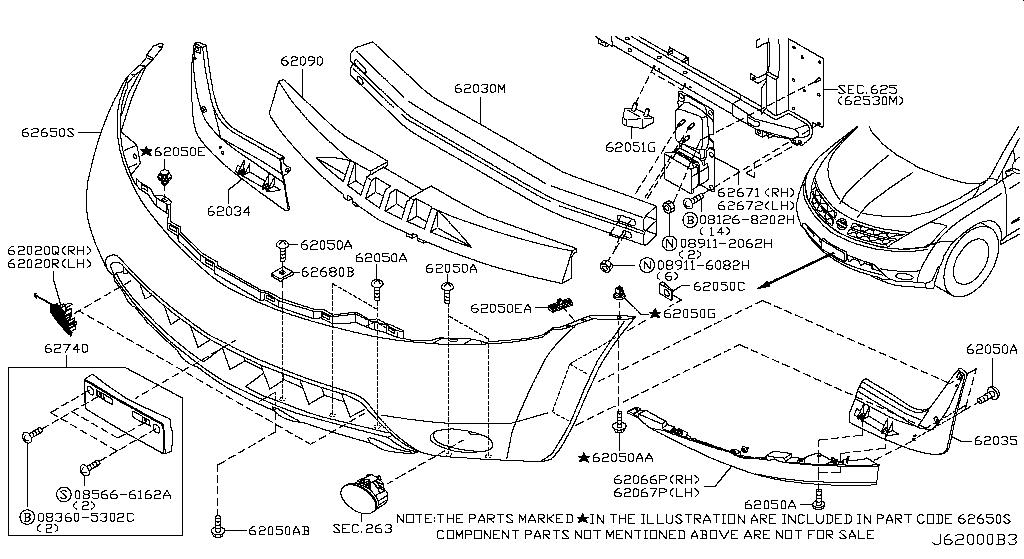 2003 Murano Body Kit