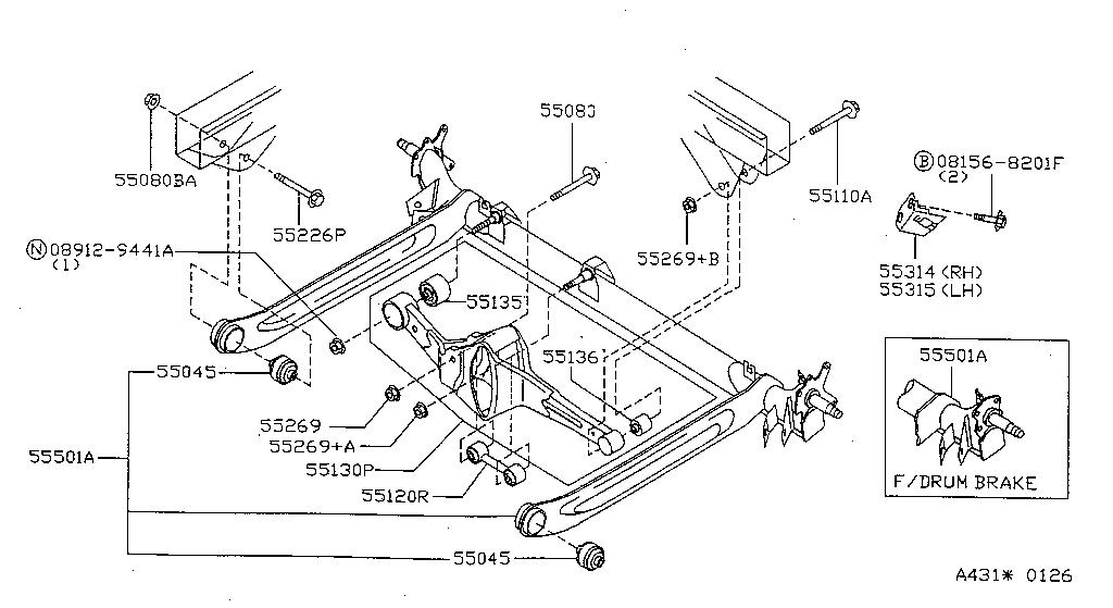 Nissan 720 Torsion Bars