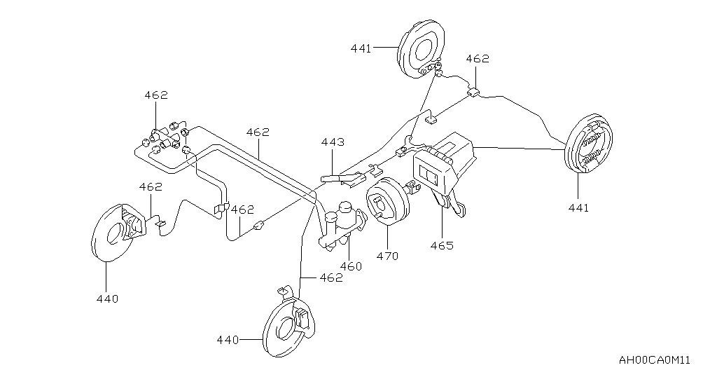 Nissan 4x4 M11 Brake