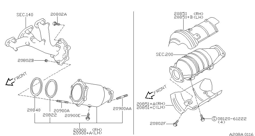 Knock Sensor 2003 Nissan Murano Repair