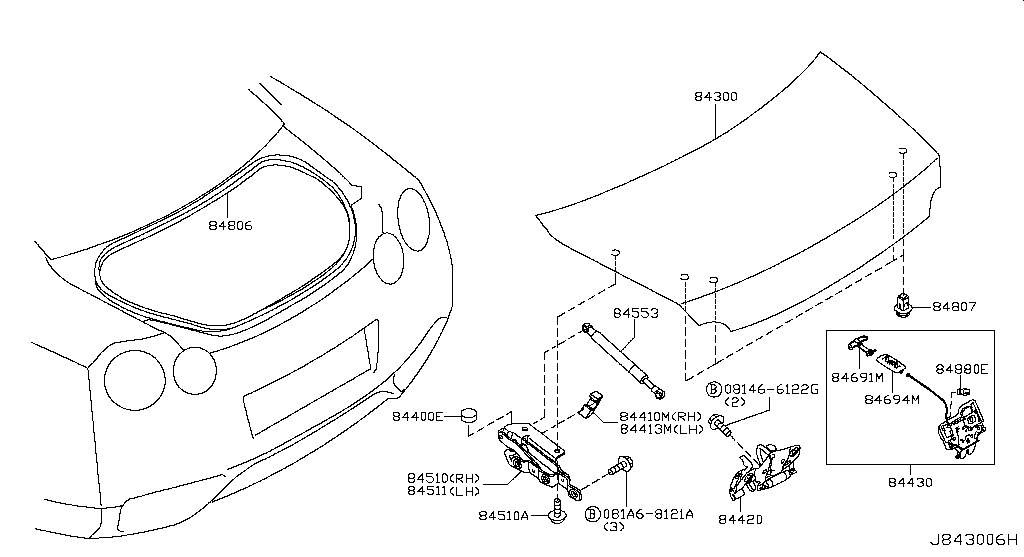 Nissan Gt R Engine Drawing