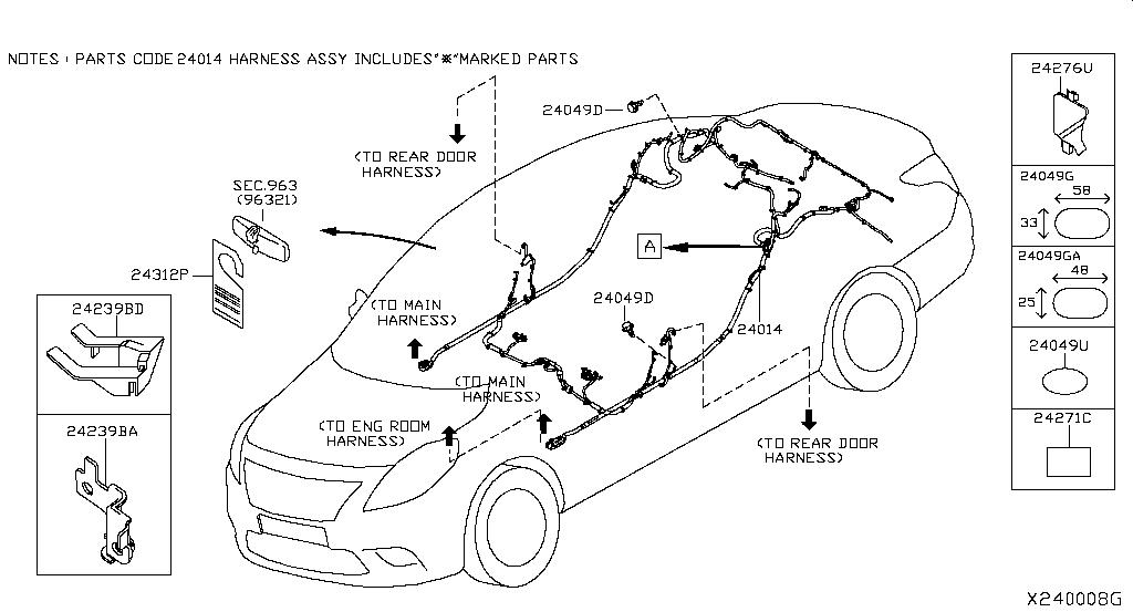 Versa Sedan N17x Body Electrical Wiring