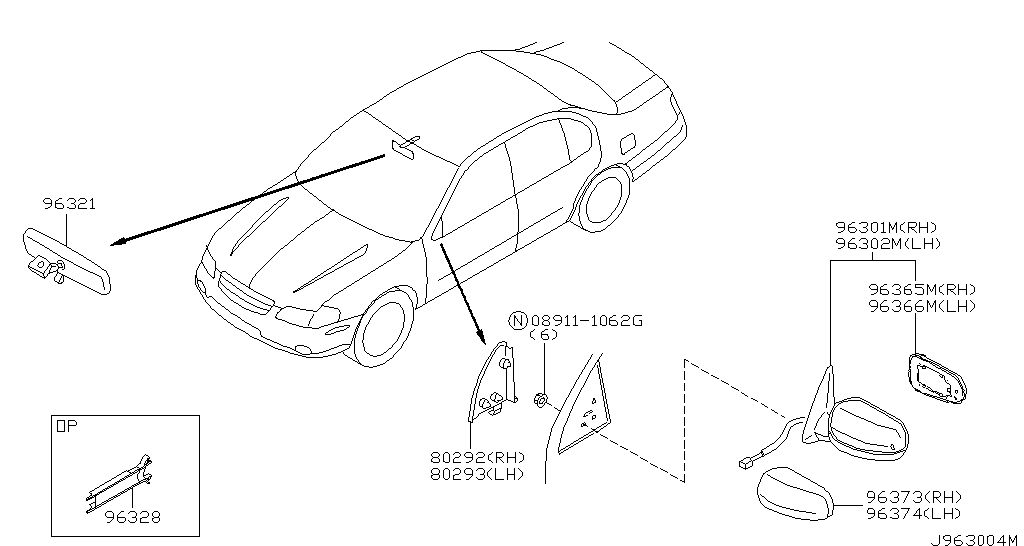 Nissan Gt R Rear View Drawings