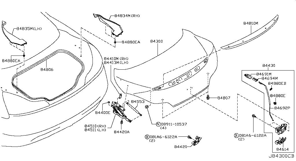 370z Rear Wiring