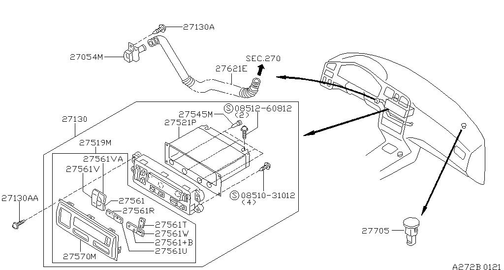 1998 Nissan Primera P11 Wiring Diagram