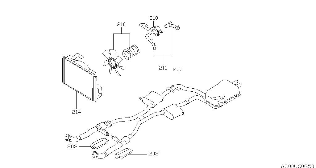 Infiniti Q45 G50 Exhaust Cooling
