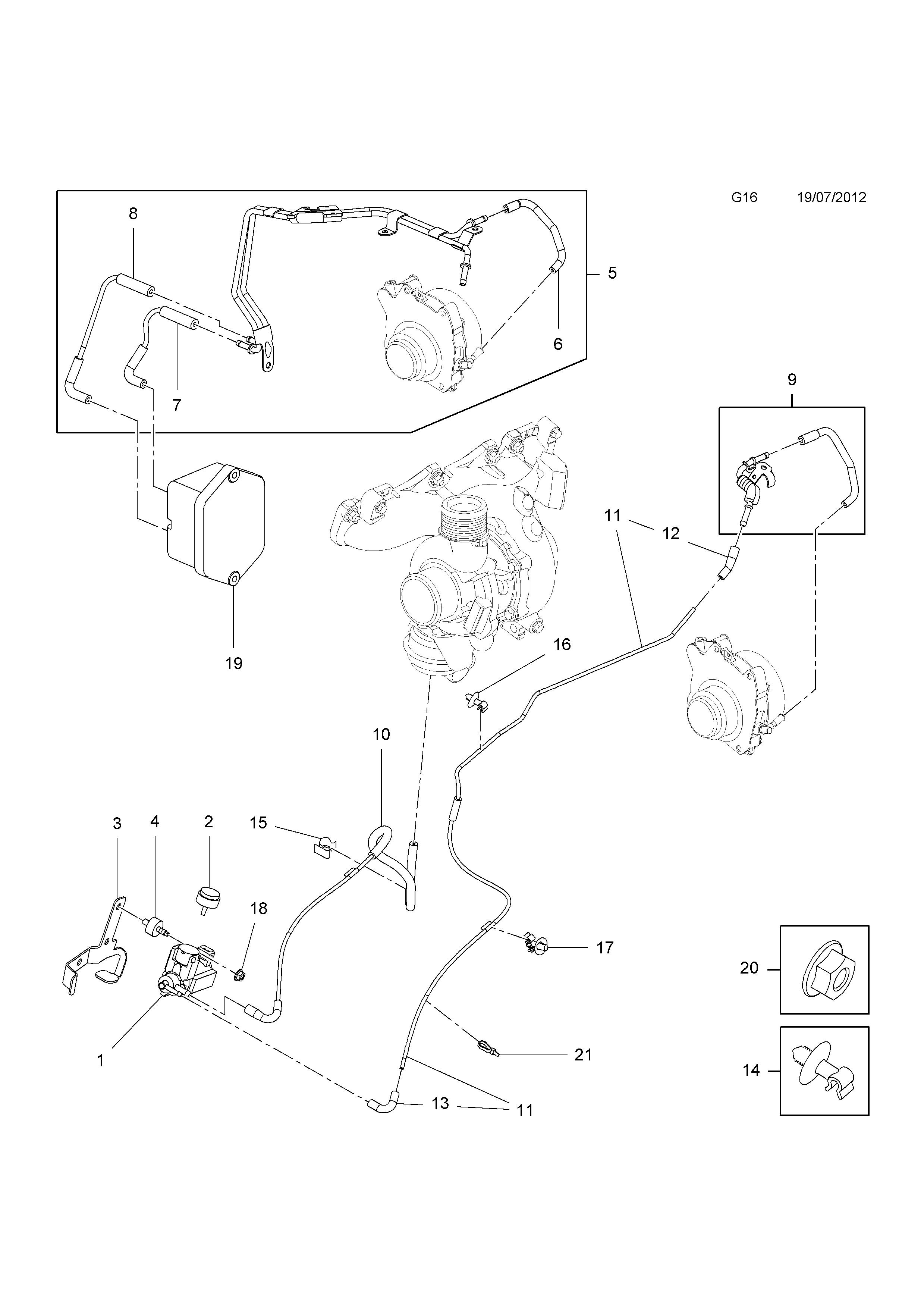 Opel Vacuum Diagram - Wiring Diagram Liry on