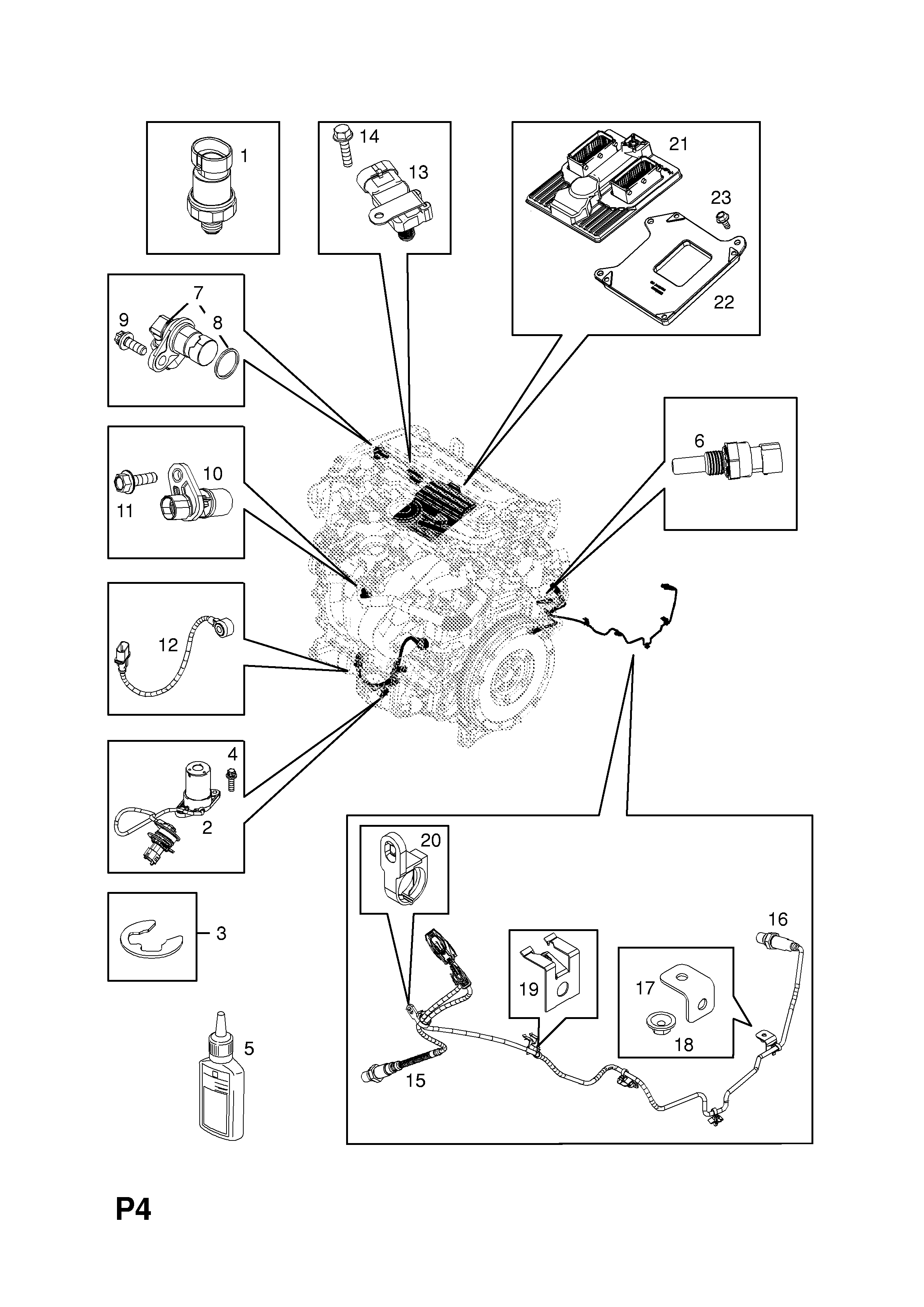 Vauxhall Zafira B 2005 P Electrical 1 Engine And Cooling Cruise Control Wiring Diagram