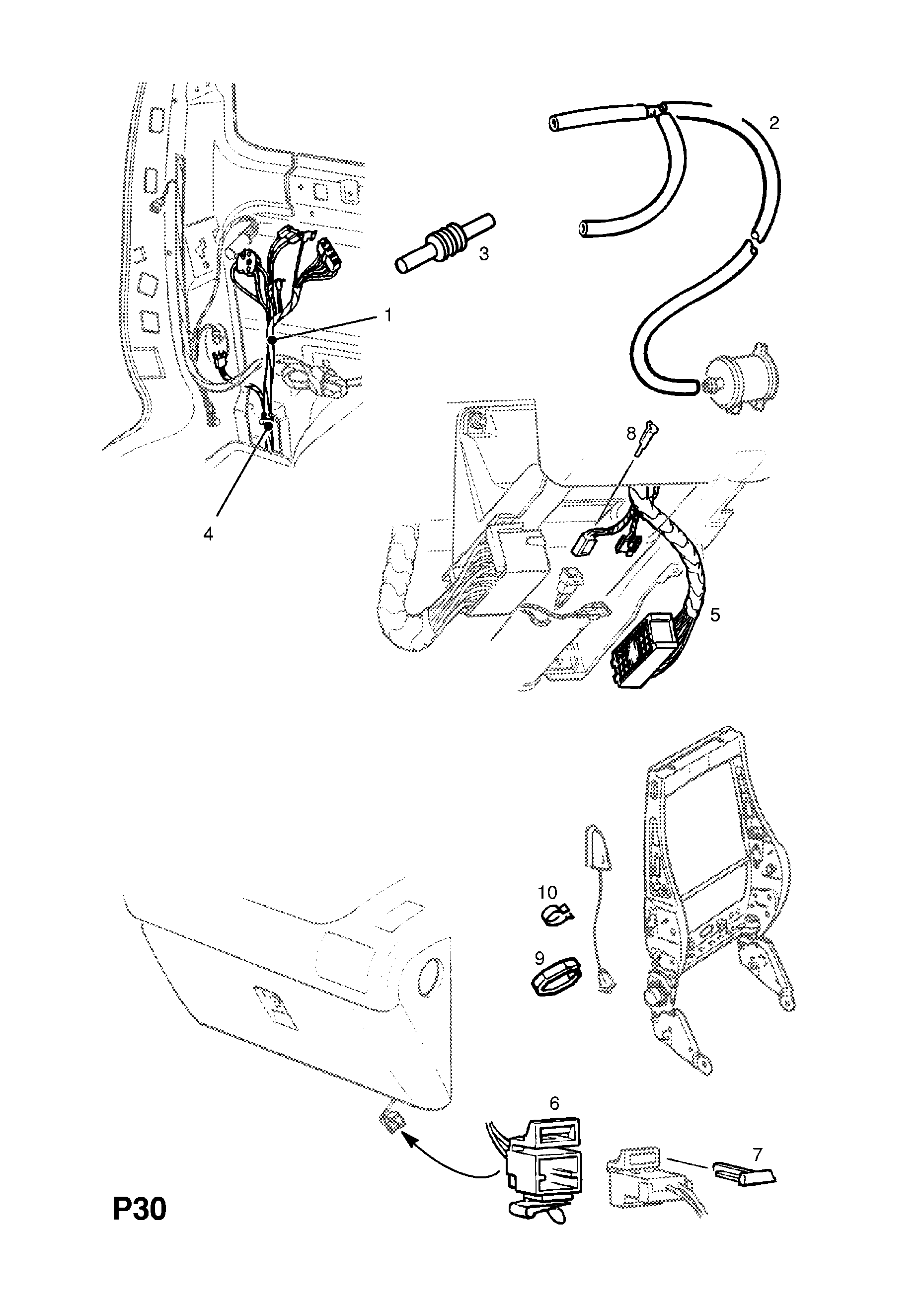 vauxhall sintra wiring diagram wiring library  vauxhall sintra 1997 1999 p electrical 9 wiring harness 32
