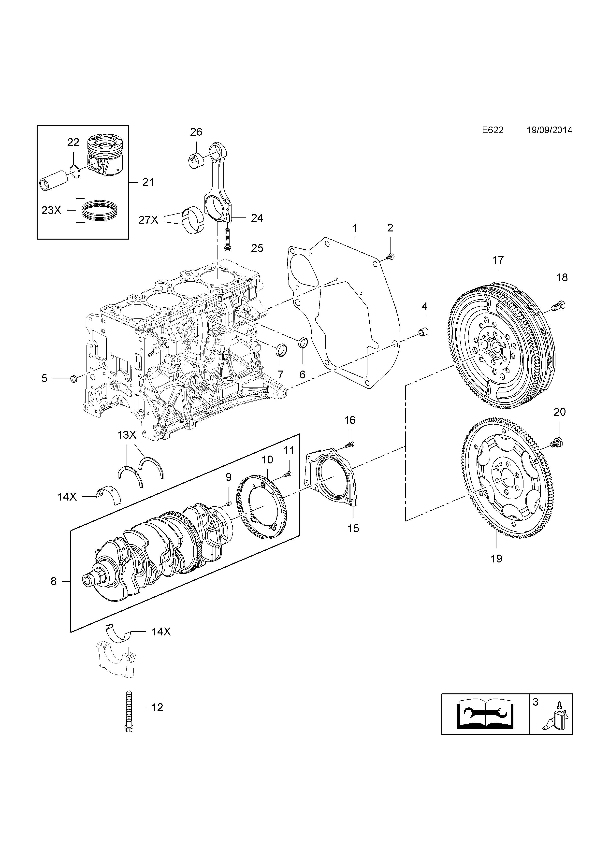 opel insignia 2009 e engine and clutch 9 b20dth lfs diesel 2015 Opel Meriva list of parts
