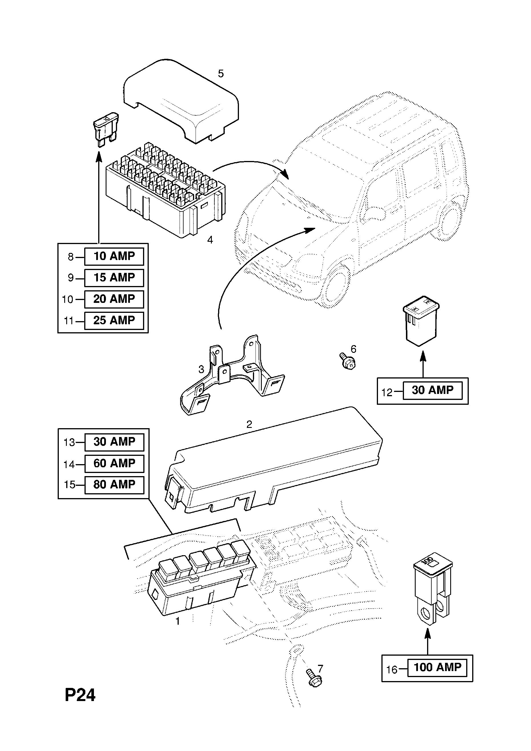 Opel Agila Fuse Box Data Wiring Diagram