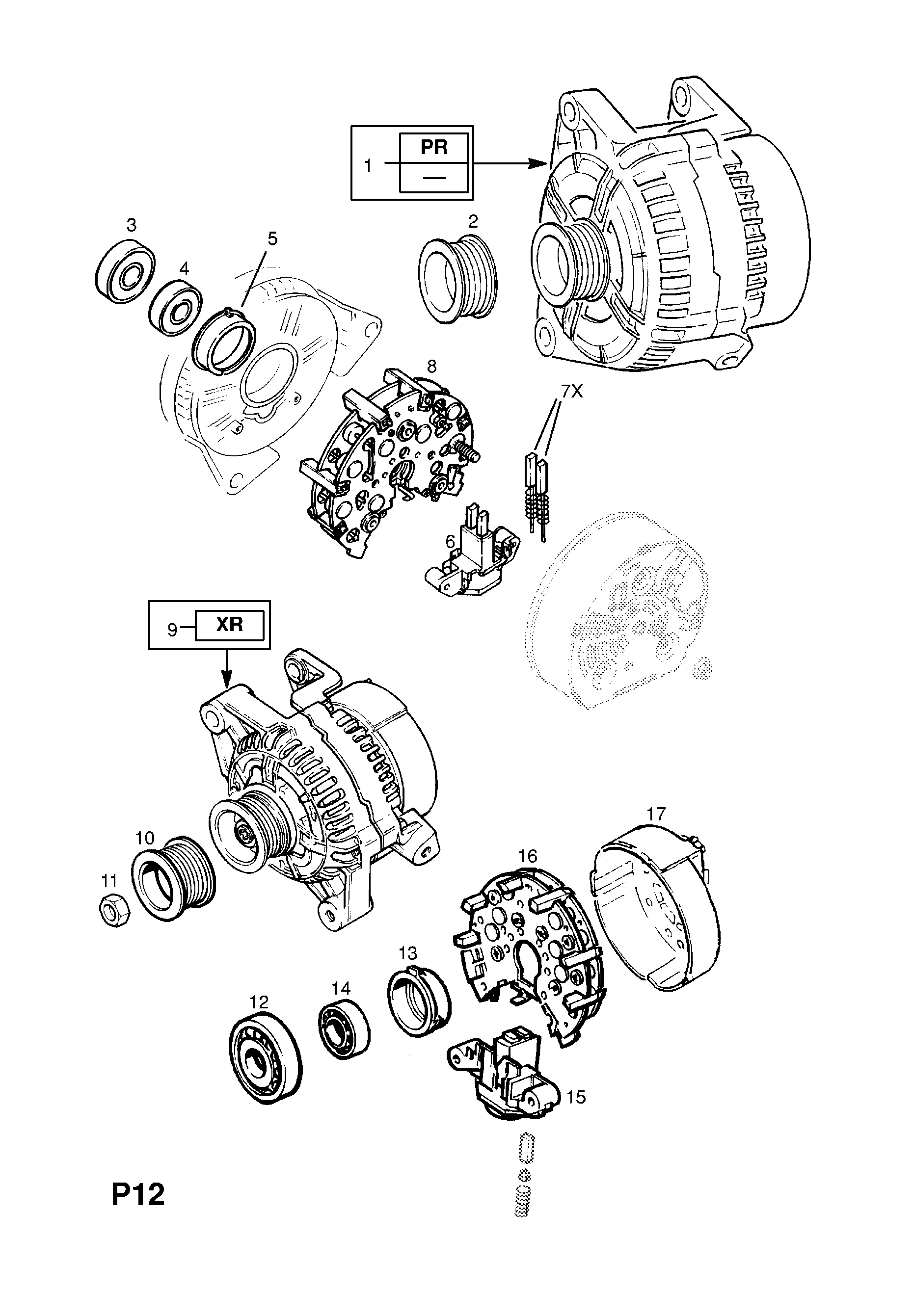 bosch starter motor wiring diagram wiring diagram database Opel Vectra 2.0 opel vectra b 1996 2002 p electrical 1 engine and cooling 31 bosch o2 sensor wiring diagram bosch starter motor wiring diagram