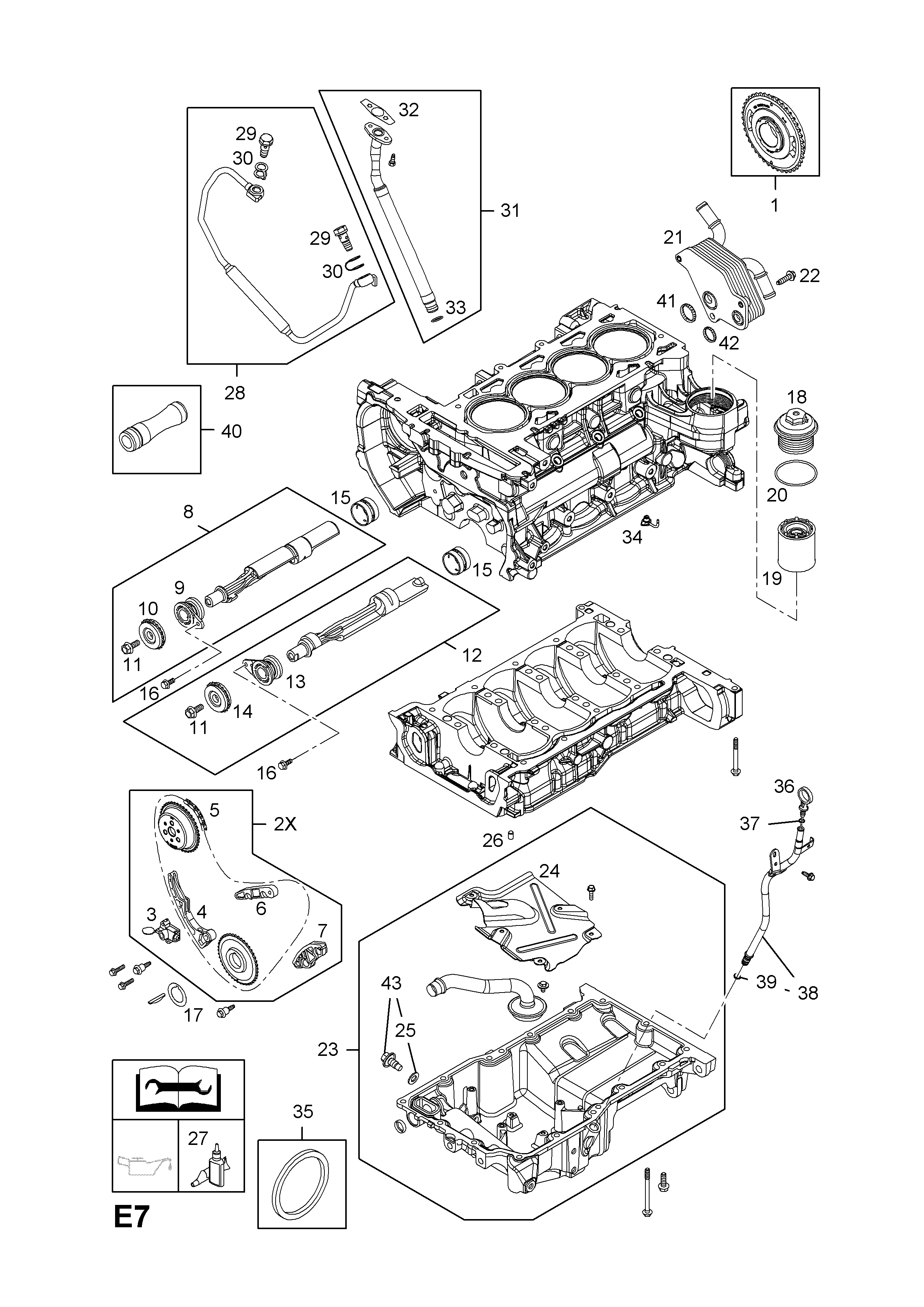 opel opel gt 2007 2009 e engine and clutch 1 z20nhh lnf Opel Insignia list of parts model opel opel gt