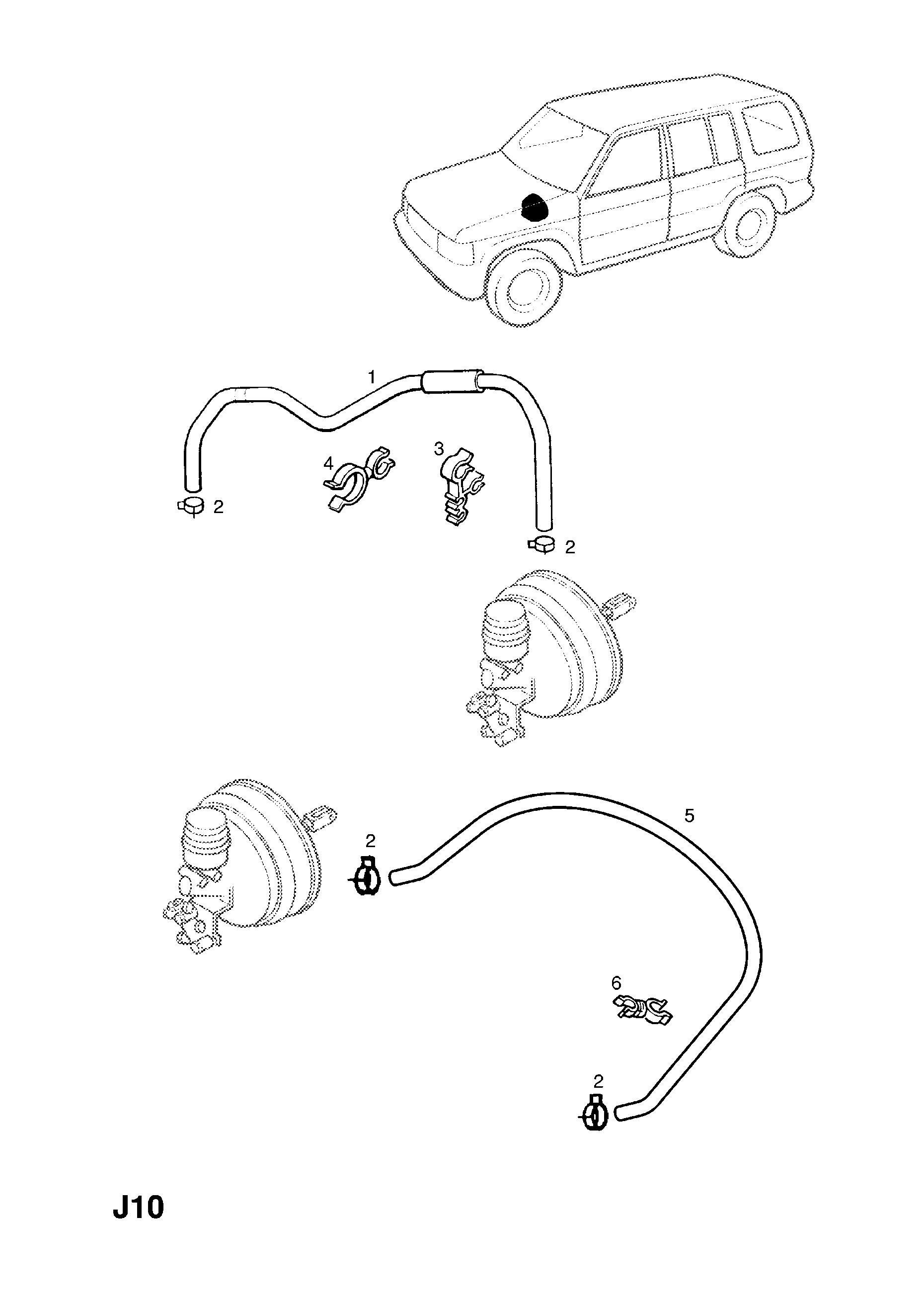 Opel Monterey Vacuum Diagram Electrical Wiring Diagrams 1998 2000 J Brakes 12 For Servo Catcar