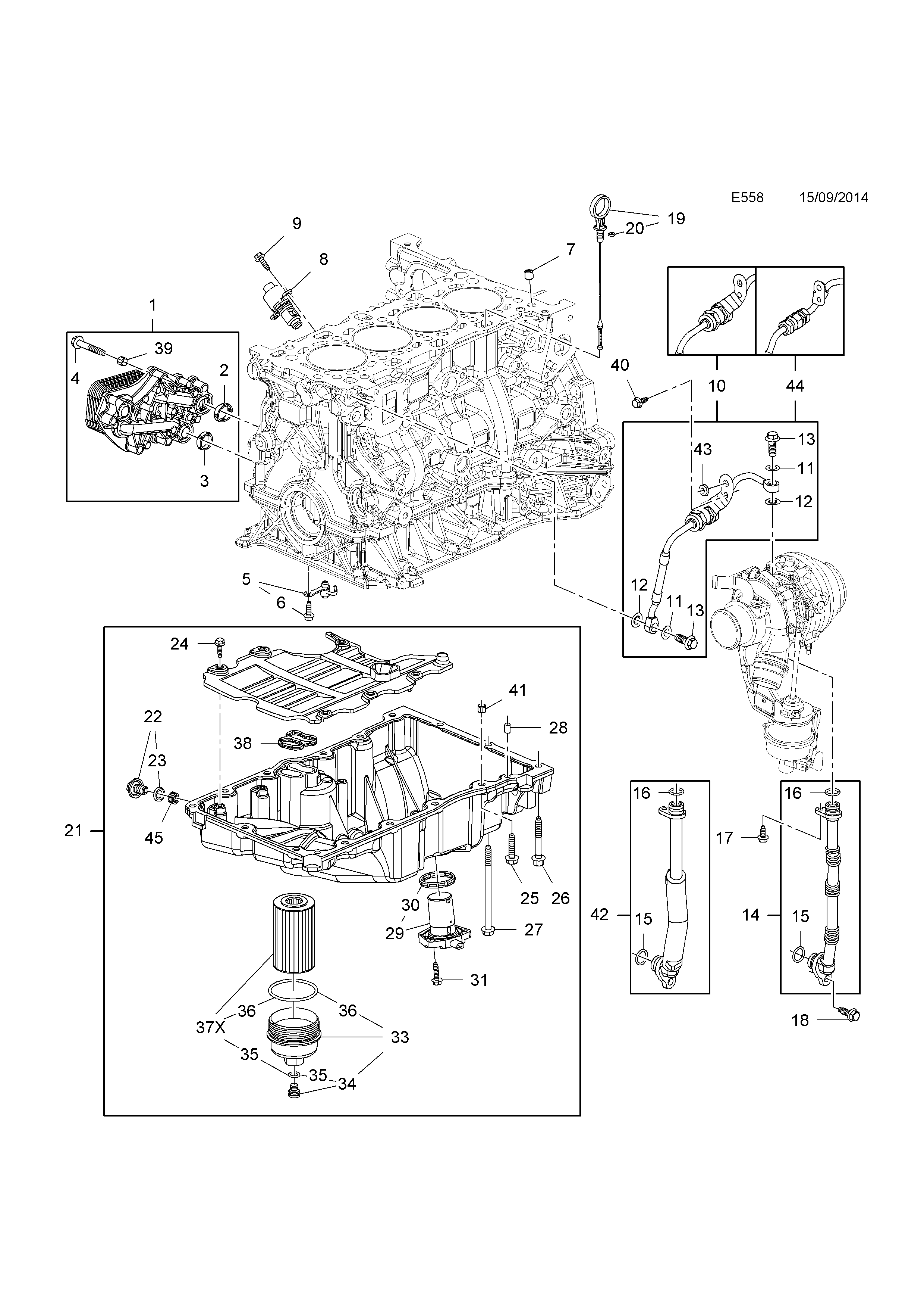 Opel zafira c 2012 e engine and clutch 4 b16dthlvl list of parts ccuart Image collections