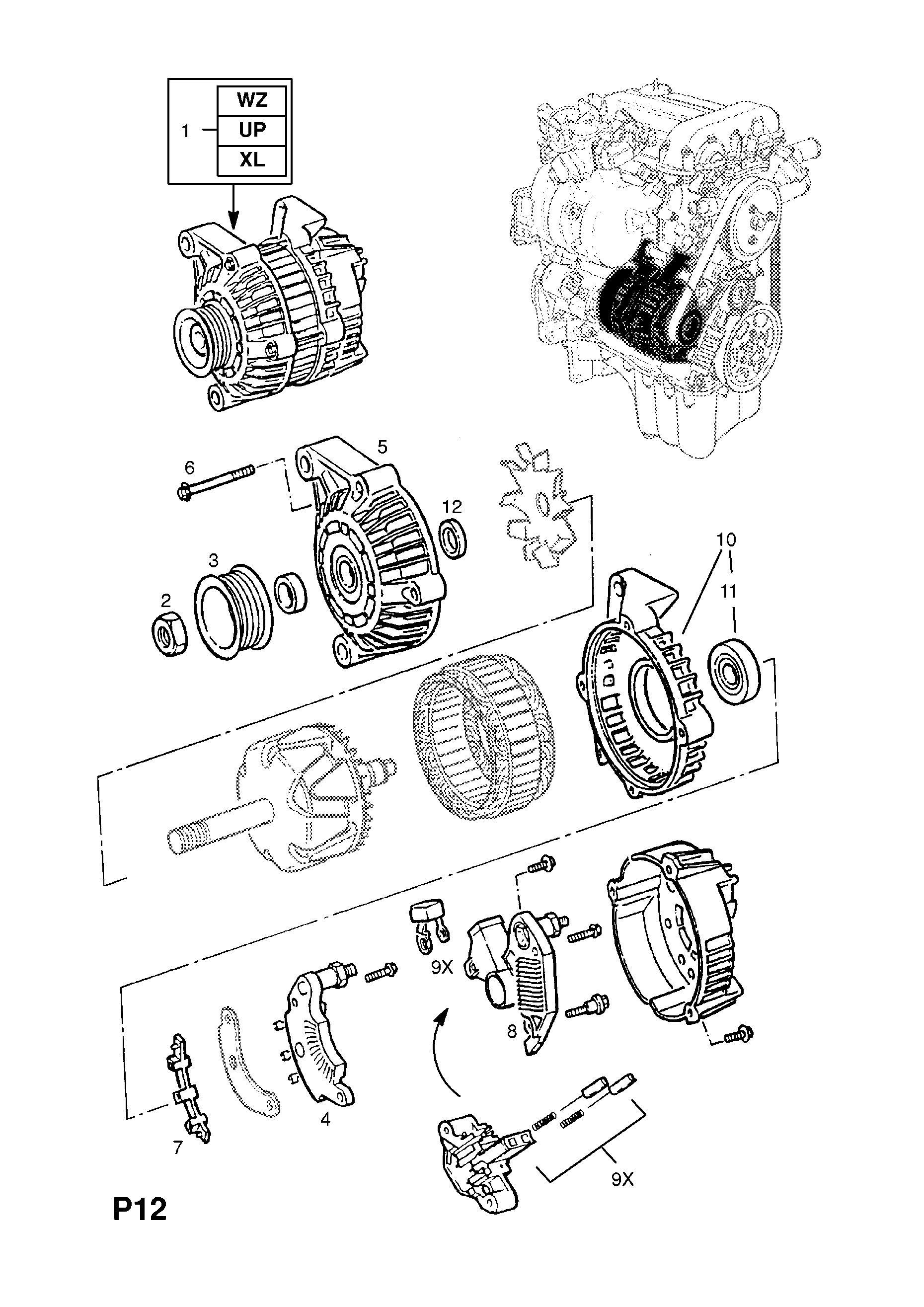 List of parts