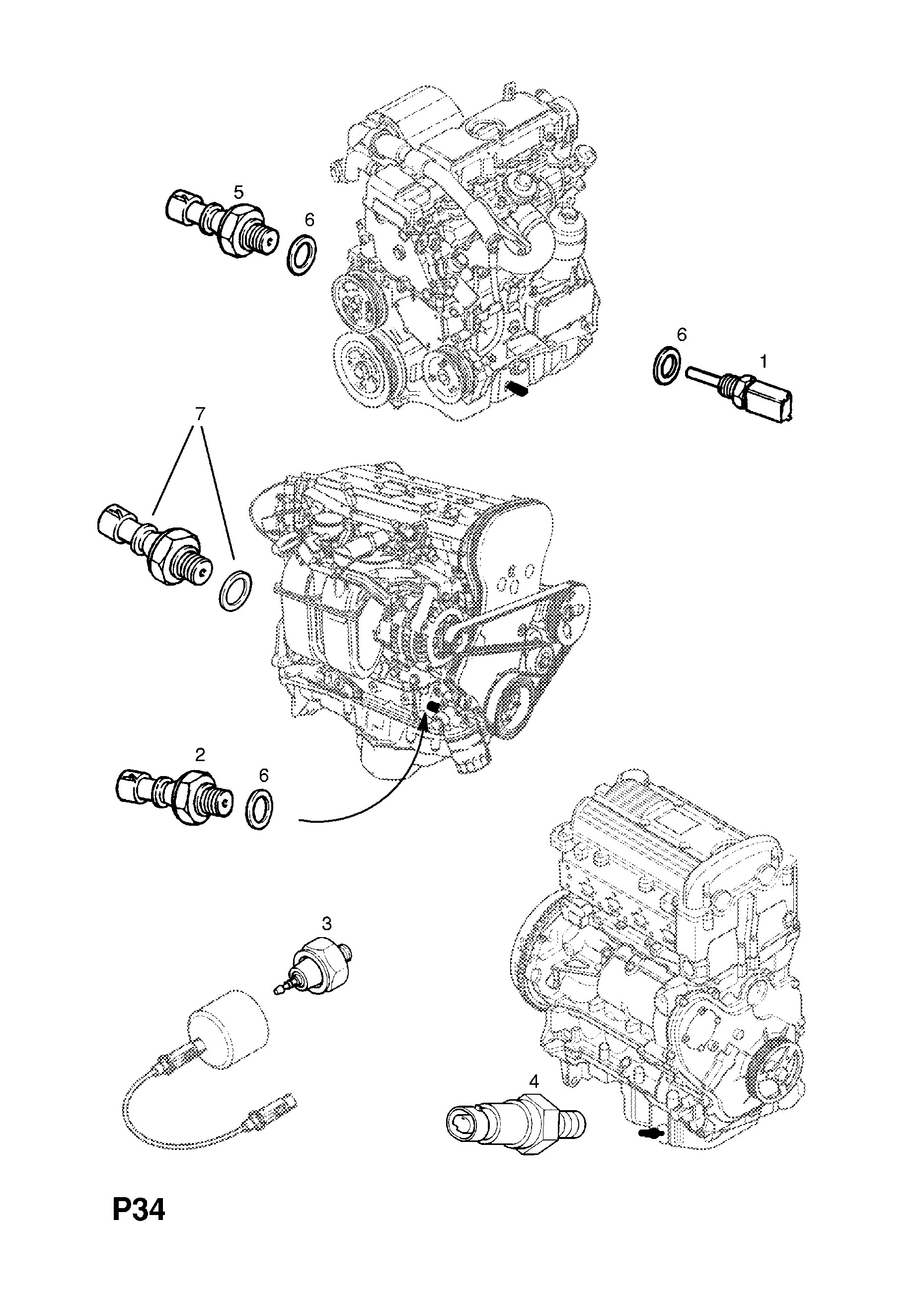 Vauxhall Astra G 1998 2010 P Electrical 1 Engine And Cooling Opel Diagram List Of Parts