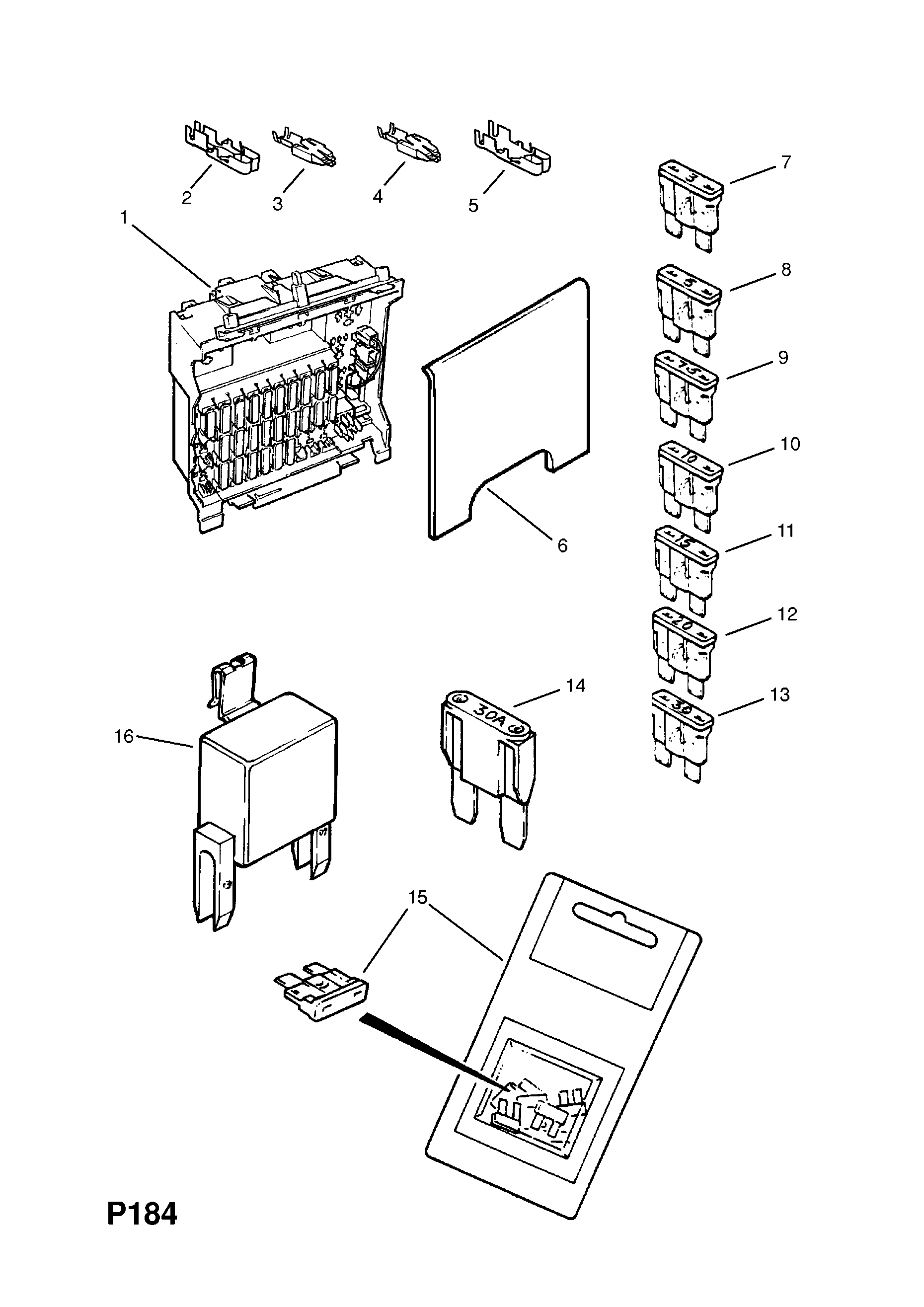 Vauxhall Omega Fuse Box | Wiring Diagram