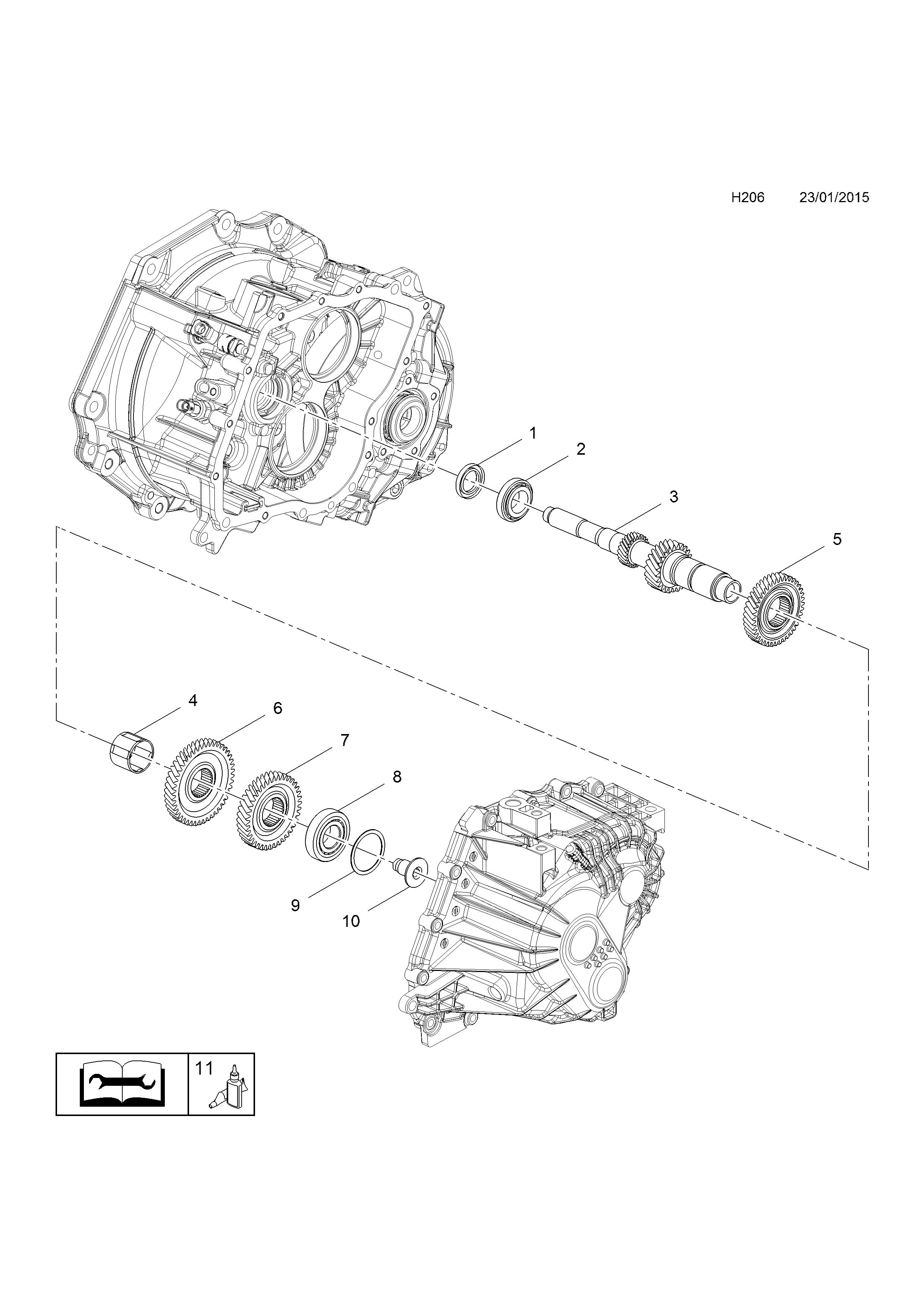 opel cascada 2013 h transmission 1 m32 manual transmission Chevy Front Differential Parts Diagram gm part number genuine part number description range
