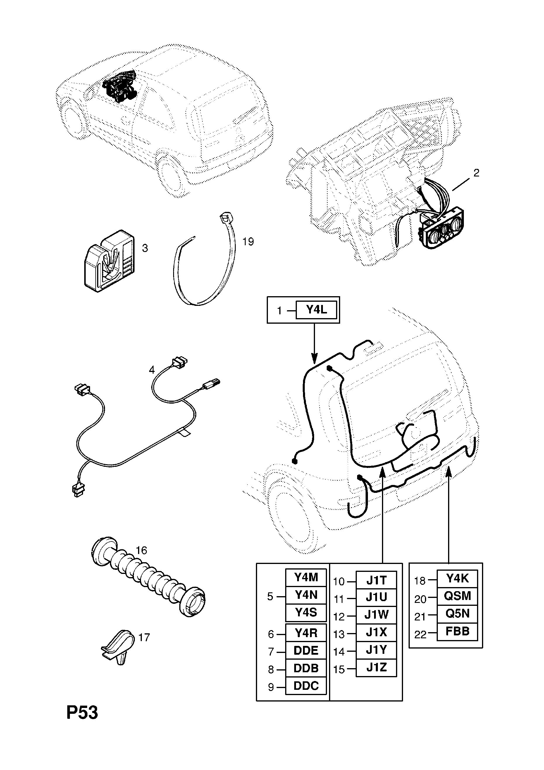 Corsa C Interior Light Wiring Diagram Library Circuit Vauxhall 2001 P Electrical 10 Harness 209