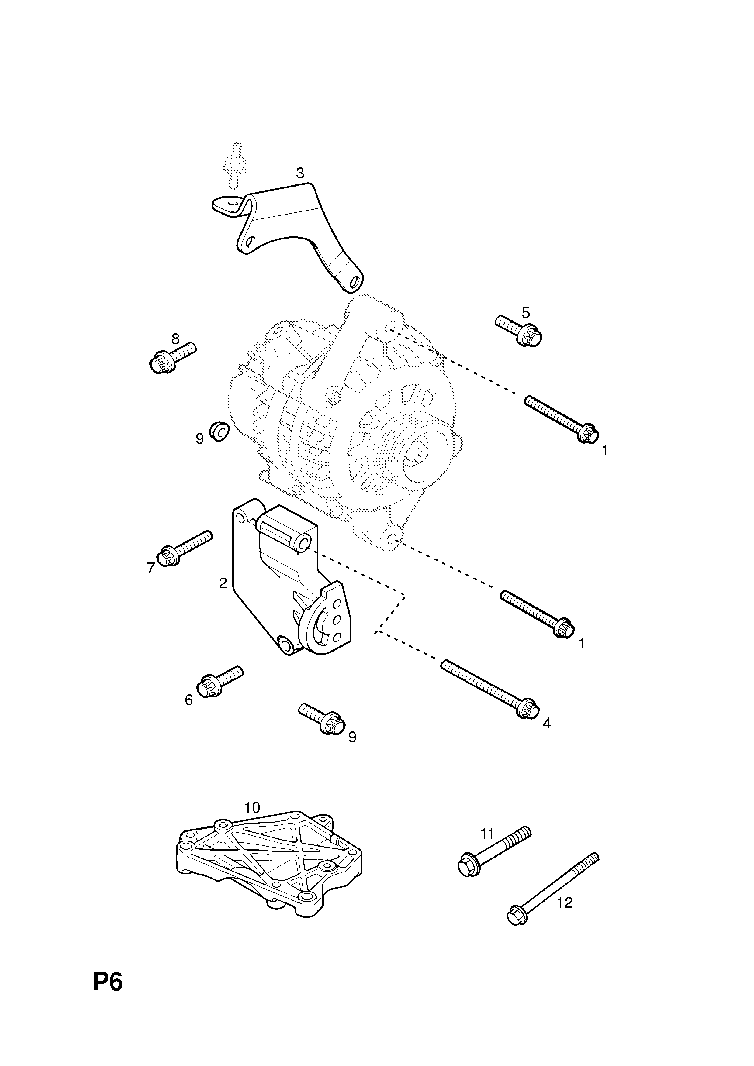 Opel Tigra B 2004 P Electrical 1 Engine And Cooling 19 Gm Alternator Parts Diagram Part Number Genuine Description Range Fittings
