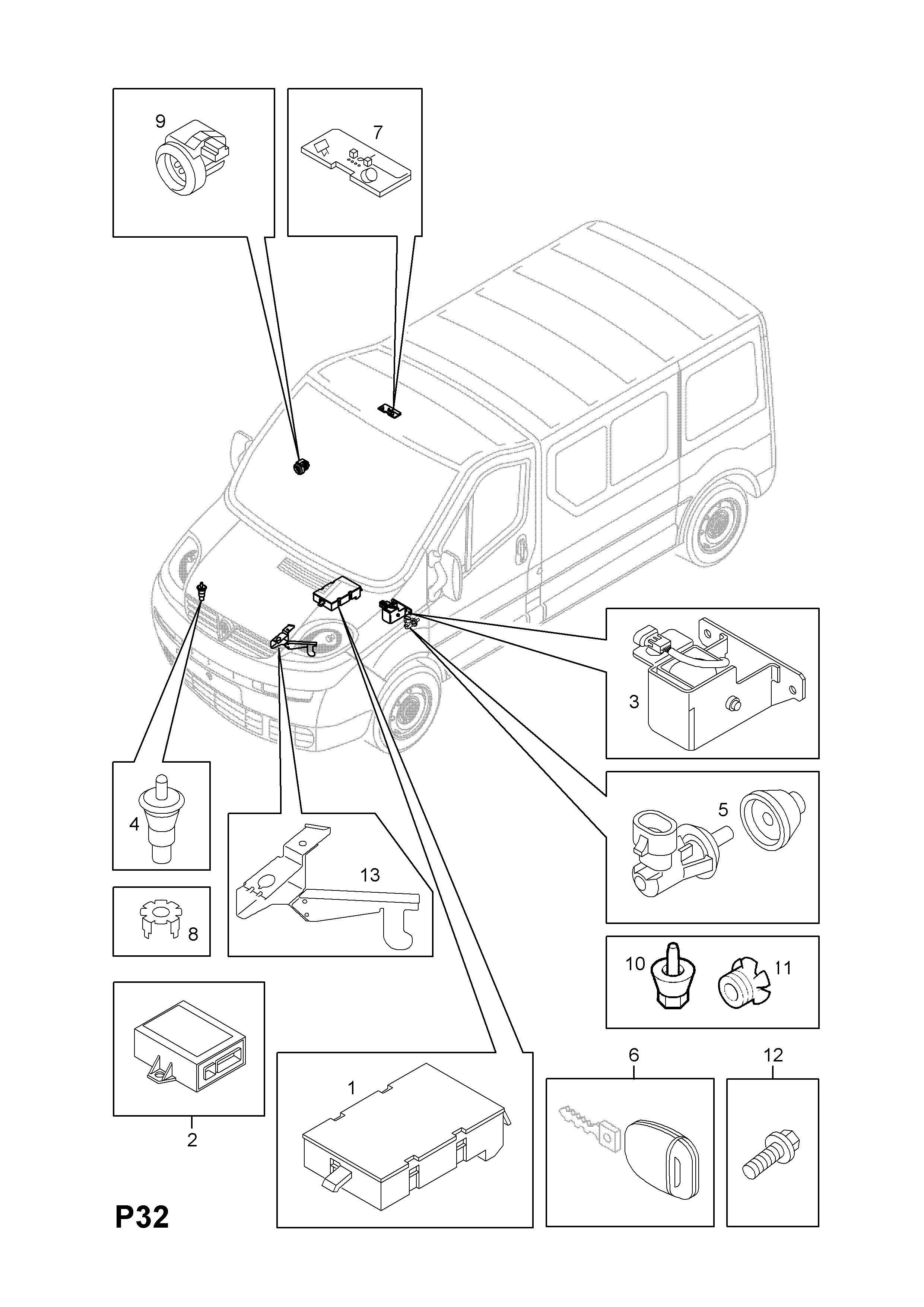 WRG-7963] Vauxhall Vivaro Central Locking Wiring Diagram on