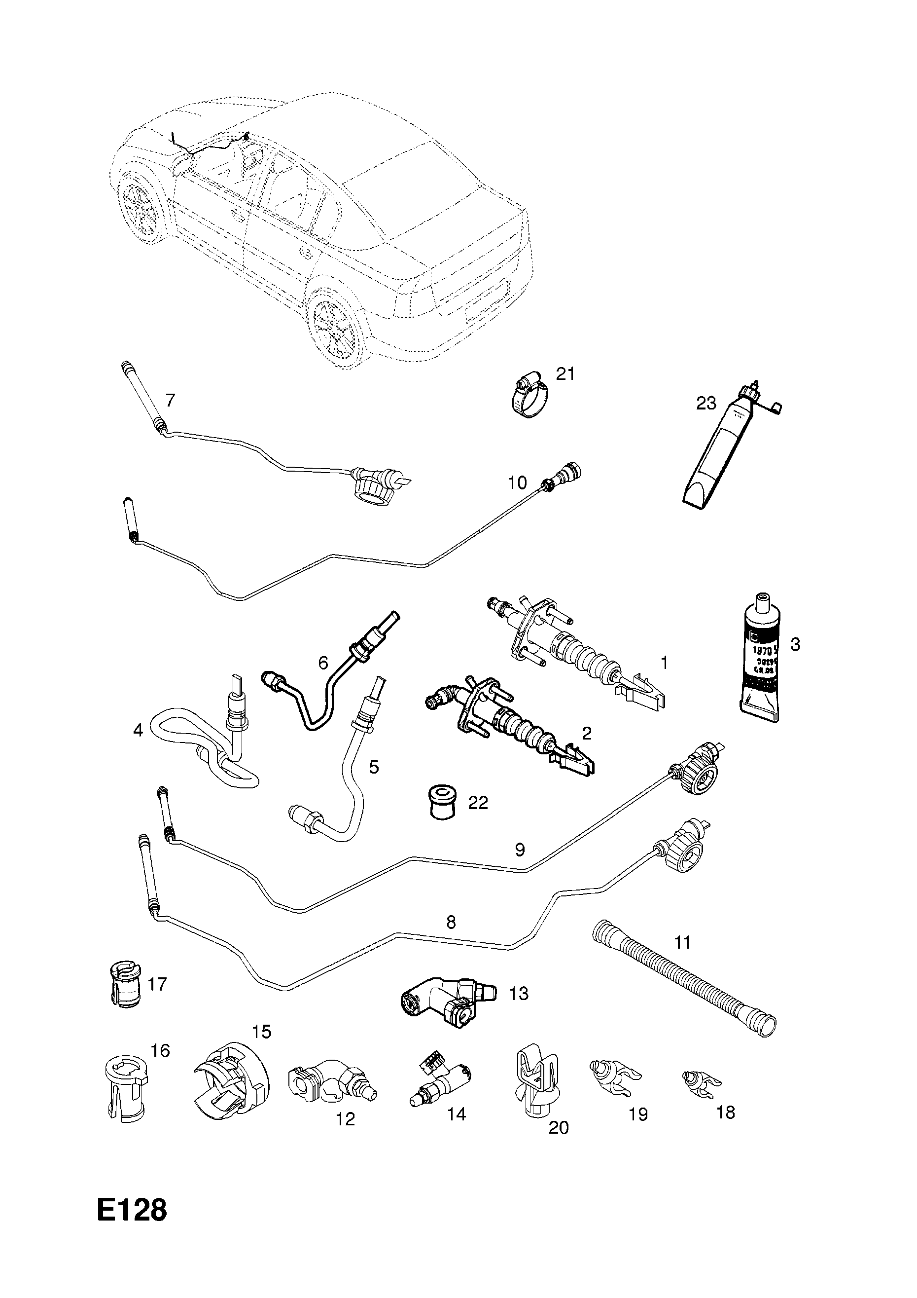 55559139 VAUXHALL CONNECTION PIPE GENUINE NEW