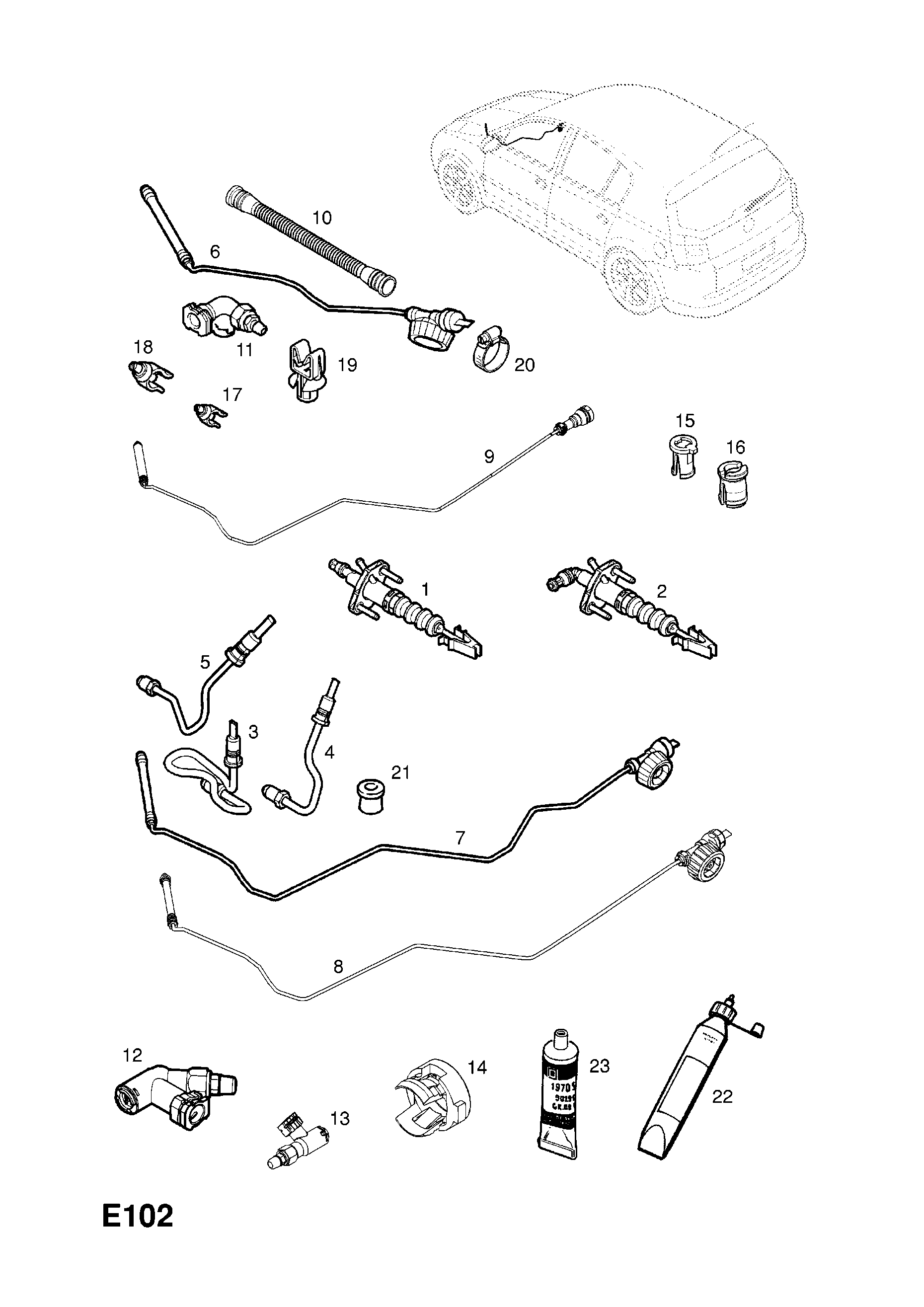 GENUINE NEW VAUXHALL CONNECTION PIPE 55559139