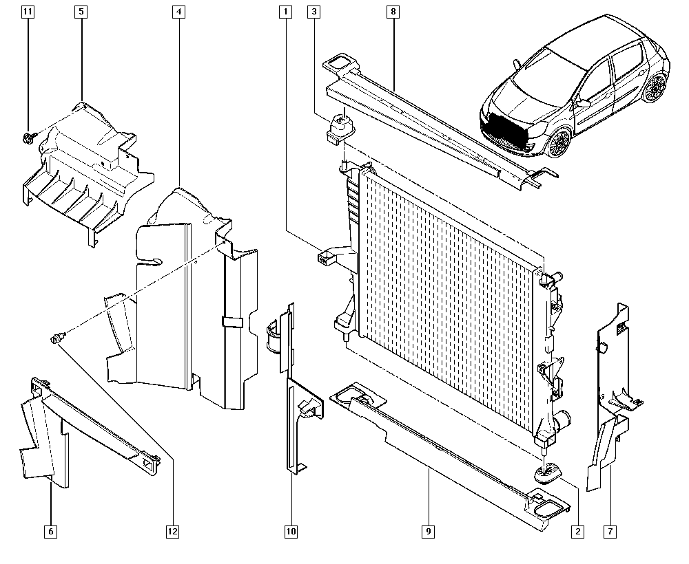 clio iii  br1g  manual  19 cooling system