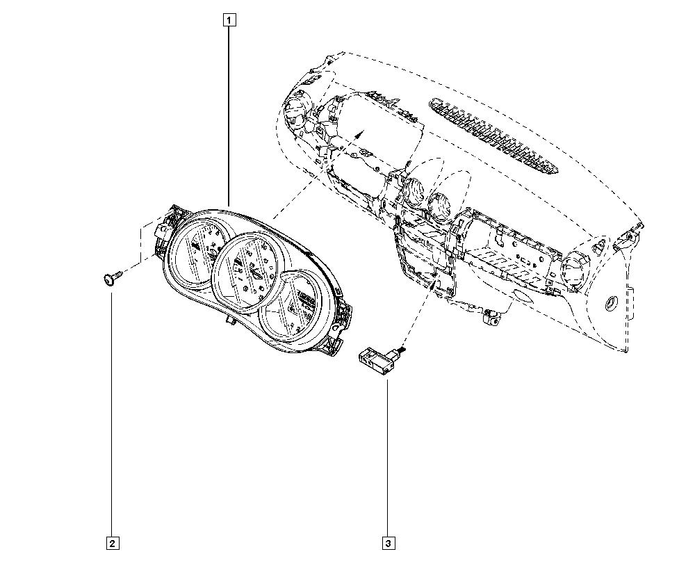 Medidor de Combustível compatível com Dacia Duster 172021477R Magneti Marelli Novo